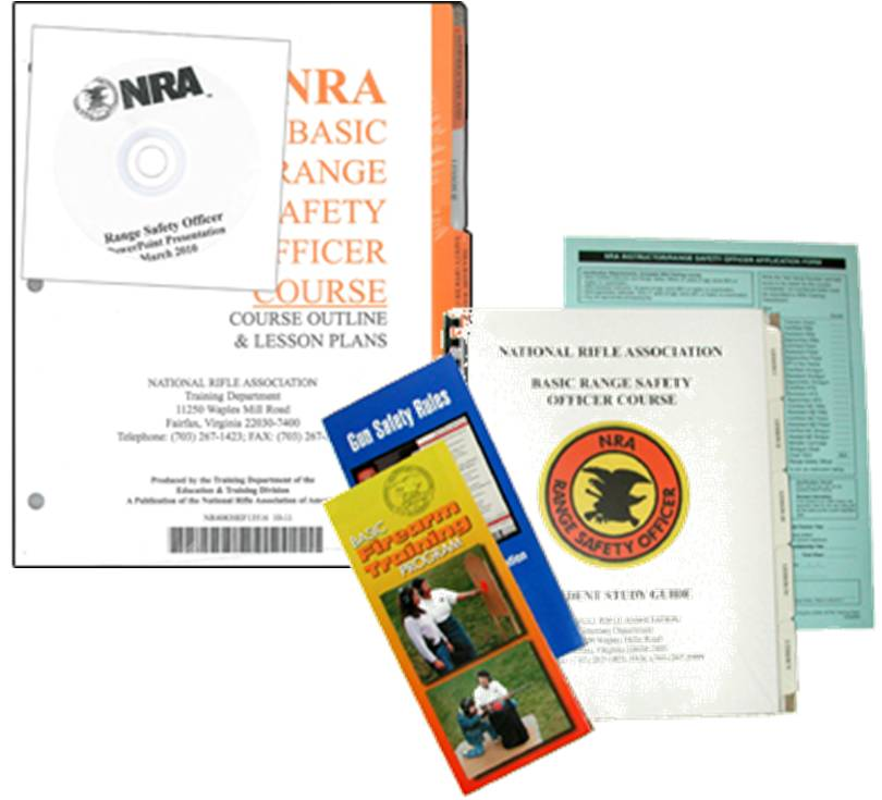 Tall Guns Chief Range Safety Officer Package