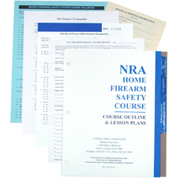 Tall Guns NRA Certified Instructor Home Firearm Safety Package